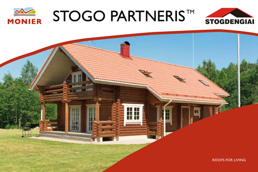 Monier stogo partneris